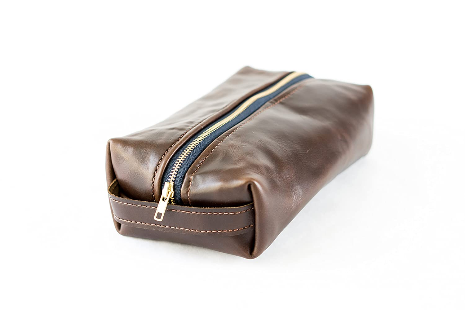 37afdc8b9a2a ... Amazon.com Horween Leather Dopp Kit Handmade new style cfe7a 7748c ...