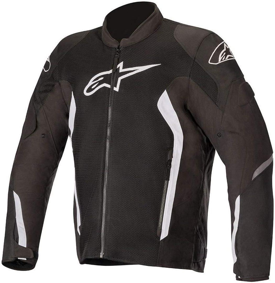 Medium Black//White//Red Alpinestars Viper V2 Air Motorcycle Jacket
