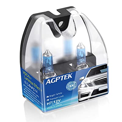AGPTEK H7 Halogen Headlight Bulb