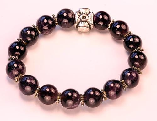 Crystal Quartz Crown Chakra ~ Choose a String Color ~ Amethyst Chakra diffuser Bracelet Friendship Bracelet Moonstone