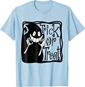 Trick or treat shirt Halloween tee