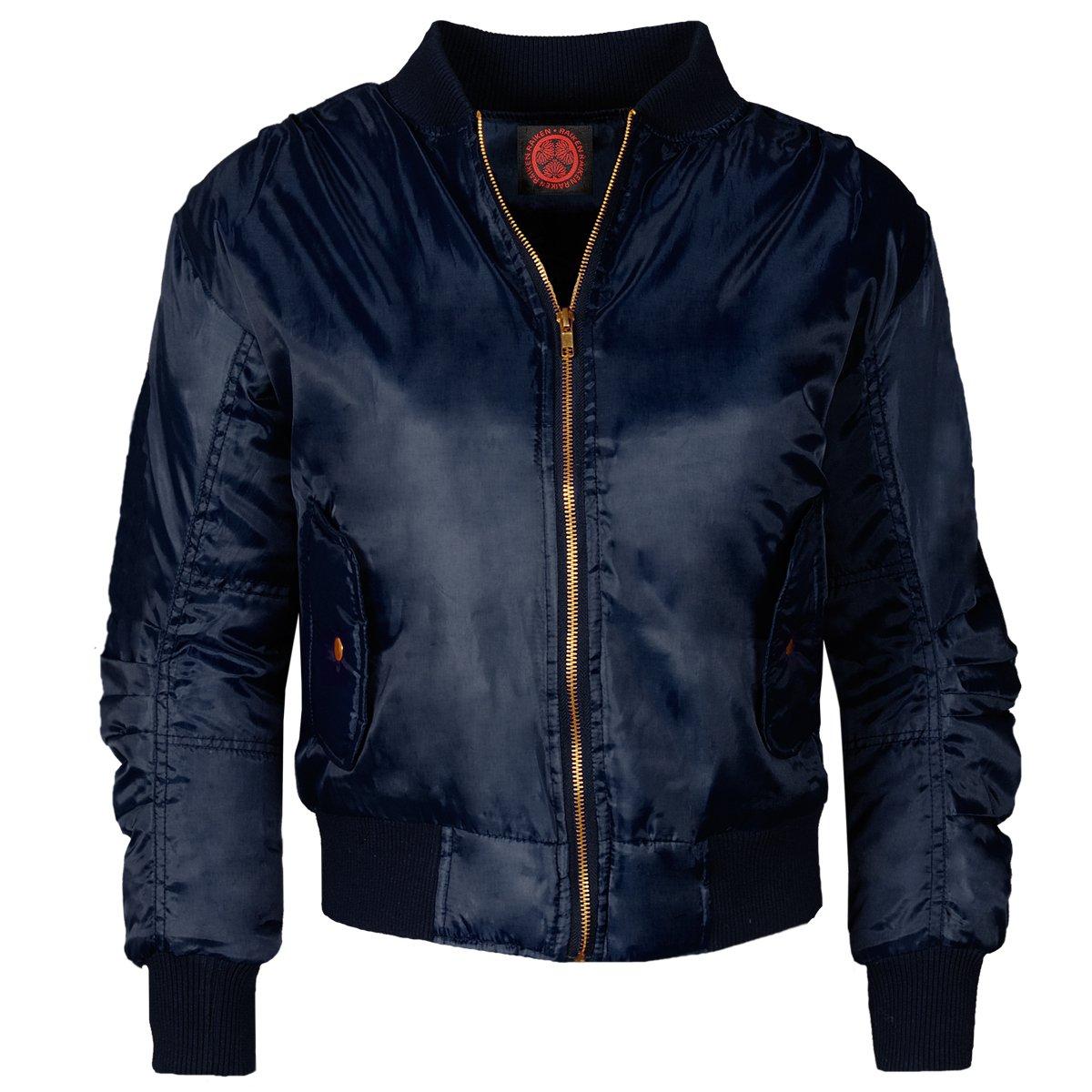 Raiken MA1 Retro Fit Bomber Pleated Biker Arm Pilot Designer Jacket Coat  Size: Amazon.co.uk: Clothing
