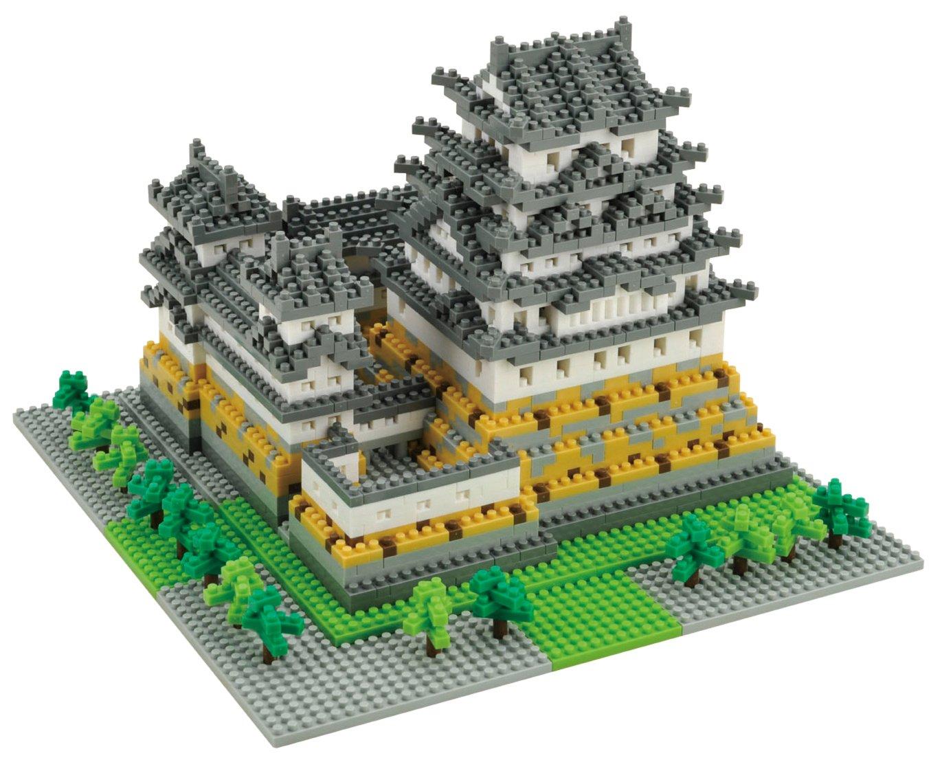 Nanoblock Deluxe Castle Himeji Ohio Art 99016