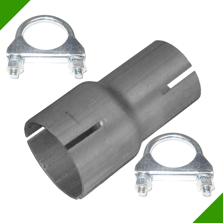 Tubo Riduttore da 40/mm a 50/mm Adattatore di scarico con 2/Fascette