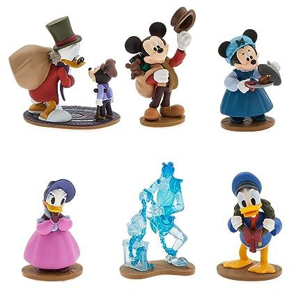 Mickeys Christmas Carol.Disney Mickey S Christmas Carol Figure Play Set 6 Figures