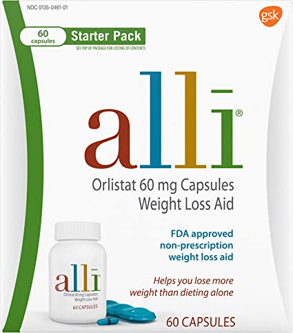 alli diet pills ingredients