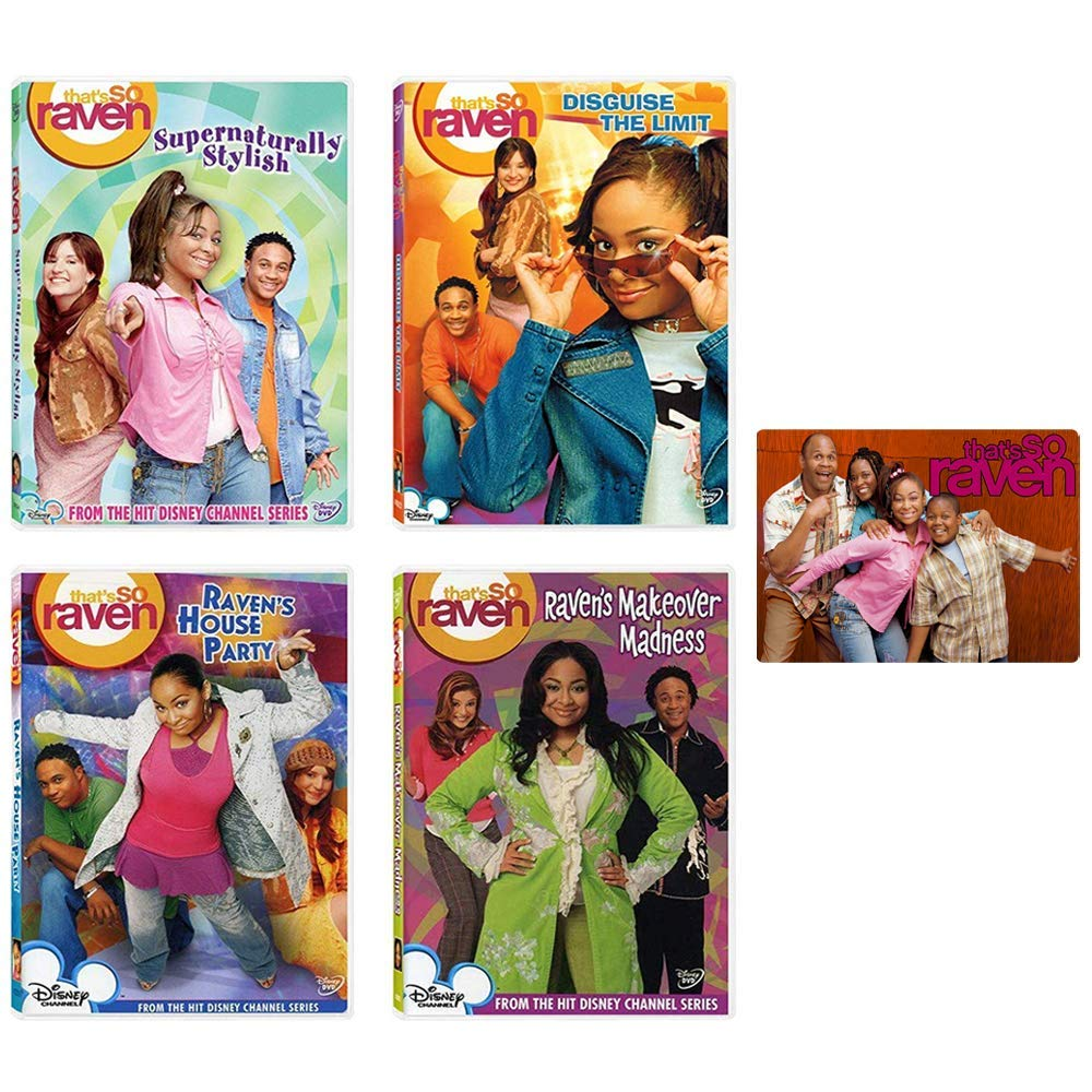 That's So Raven: Disney TV Series DVD Collection - 17 Complete Episodes + Bonus Art Card