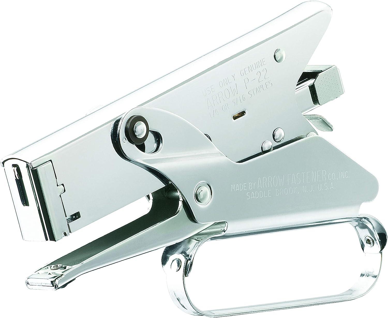 Set of 2 Arrow Fastener P22 Heavy Duty Plier Type Stapler