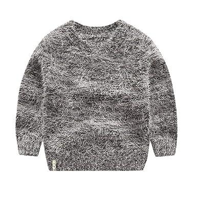 Amazon.com BCVHGD Girls Mohair Sweaters Baby boy Sweater