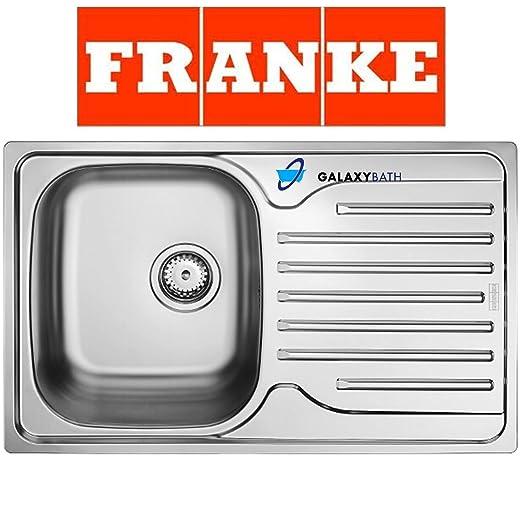 Opinioni per Franke 101.0251.296, Lavello da cucina in acciaio