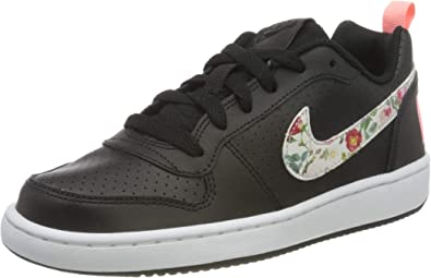 Nike Court Borough Low VF (GS), Chaussures de Basketball Fille