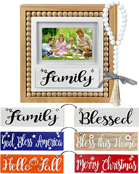 Home decor Photo frame Family picture frame