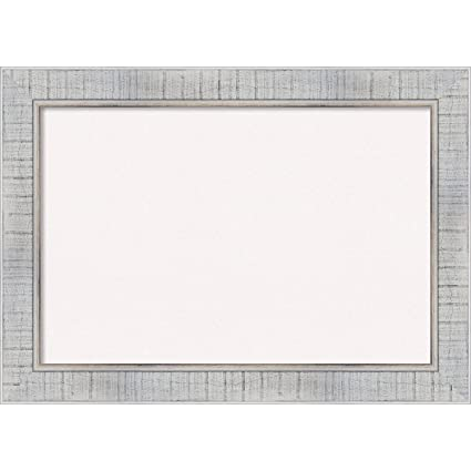 Amazon.com: Amanti Art Framed Cork Board Sonoma White Wash: Outer ...