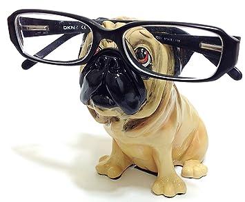 Amazon.com: Tan Pug raza de perro novedad soporte para ...