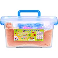 SKYFUN (LABEL) Magic Kinetic Active Funny Squeeze Sand Clay with Molded Toys for Kids (2 Kg)