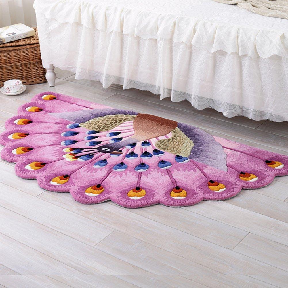 Full carpet door mats living room sofa coffee table bedroom bedside bay window-B 80x150cm(31x59inch)