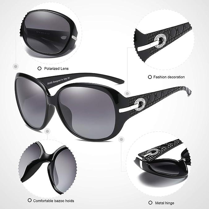 Amazon.com: DUCO - Gafas de sol polarizadas para mujer ...
