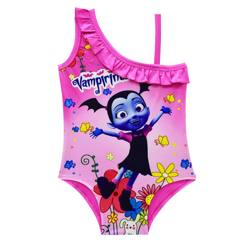 Pnfly Girls Vampirina One Piece Swimsuit