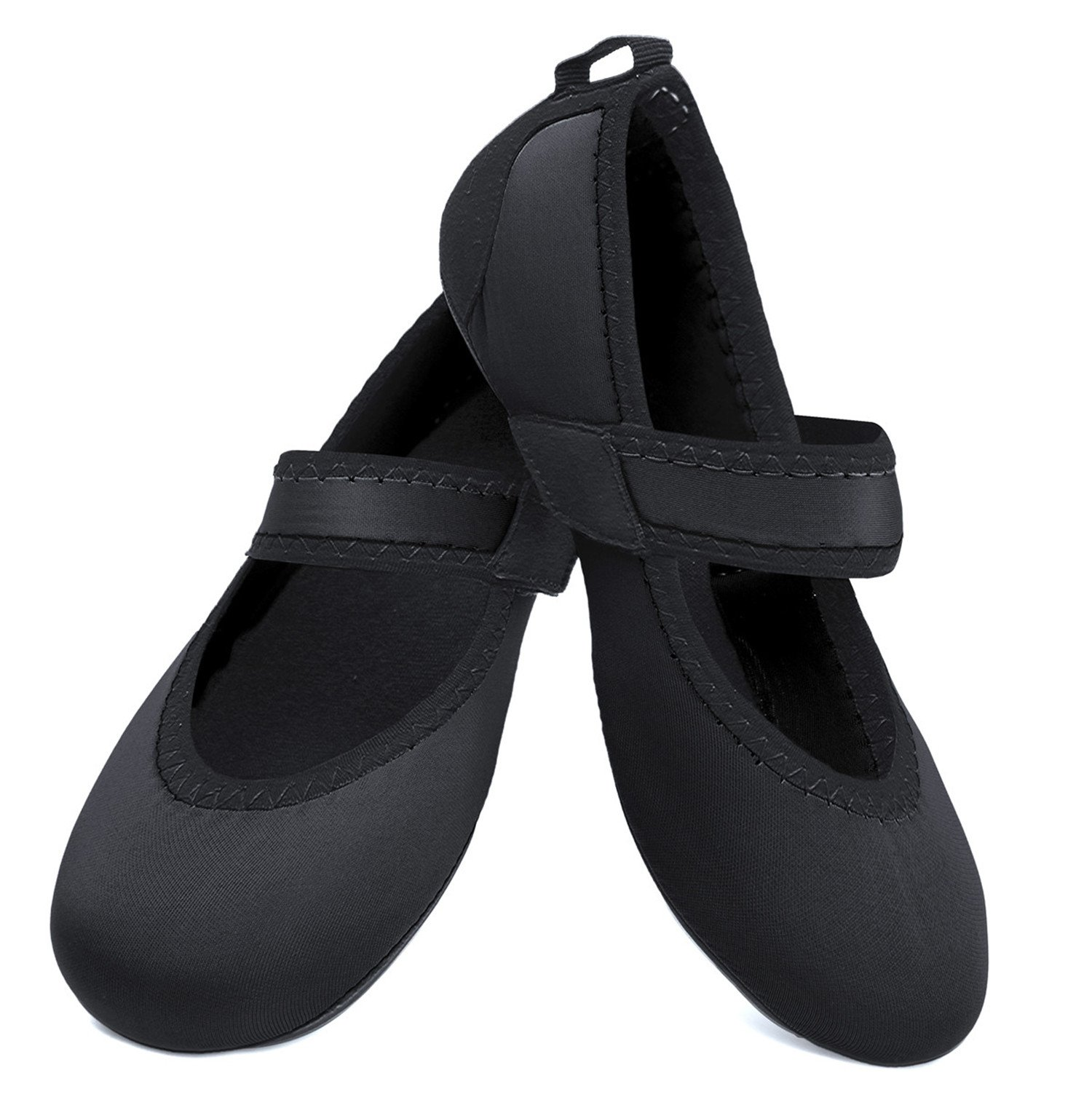 Centipede Demon Water Shoes Flexible Flats for Womens Traveling Flat Shoes Dark by Centipede Demon (Image #1)