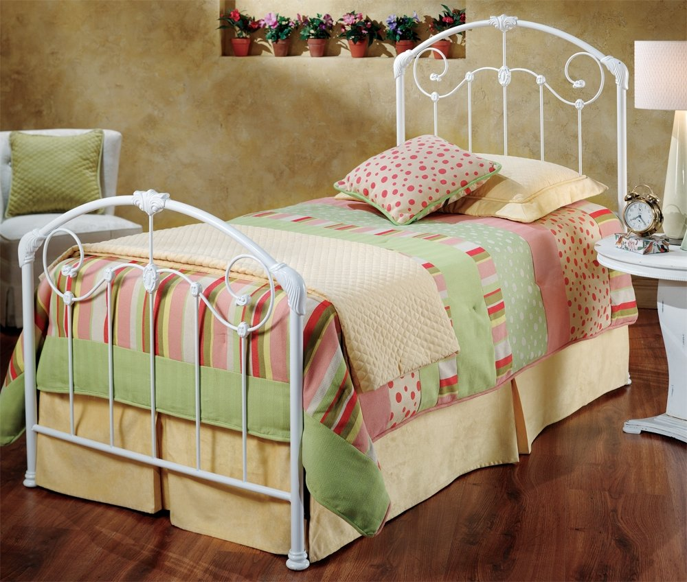 Twin Bed With Rails Top Safety Portable Kids Bed Guard