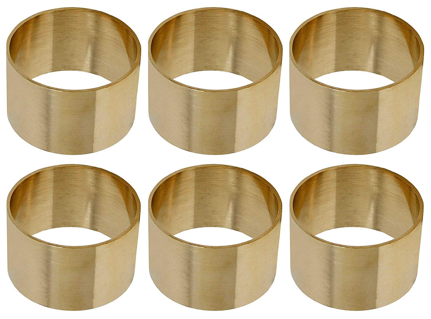 4 Divine glance Golden Napkin Rings for Weddings Dinner Parties or Every Day Use