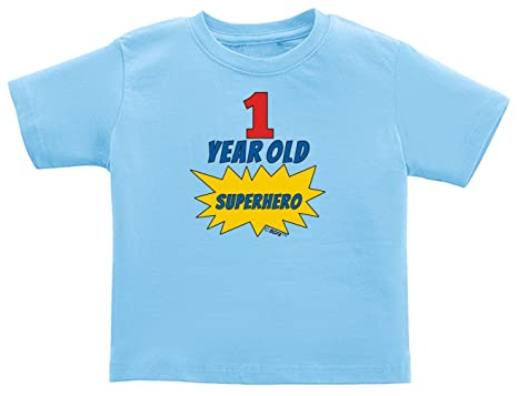 Baby Gifts For All 1st Birthday Shirt Gift 1 Year Old Superhero Infant T