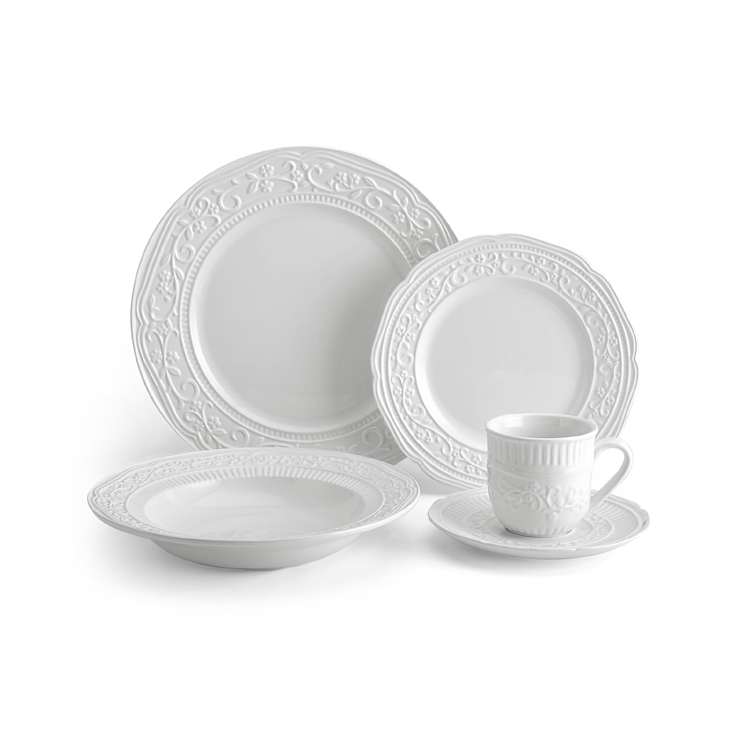 Mikasa 5224198 American Countryside 40-Piece Dinnerware Set, Service for 8