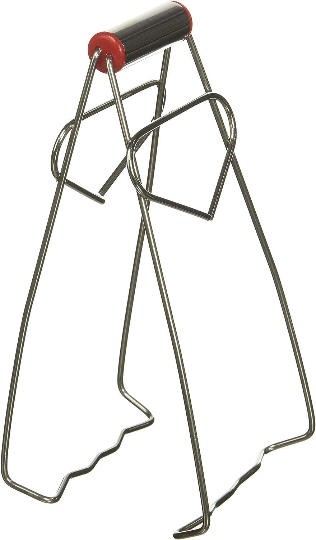 Sourcingmap a11121700ux0180 - Pinza de acero inoxidable plegable para chef de cocina, aluminio, color plateado: Amazon.es: Hogar