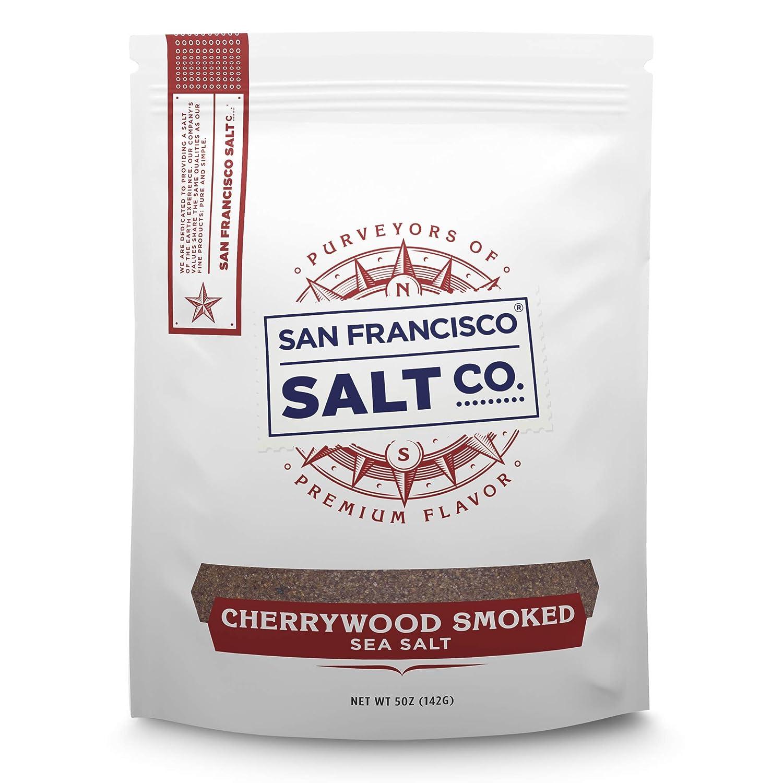 Cherrywood Smoked Sea Salt 5 oz. Pouch - San Francisco Salt Company