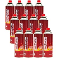 Butane Fuel Canister (12 Pack)