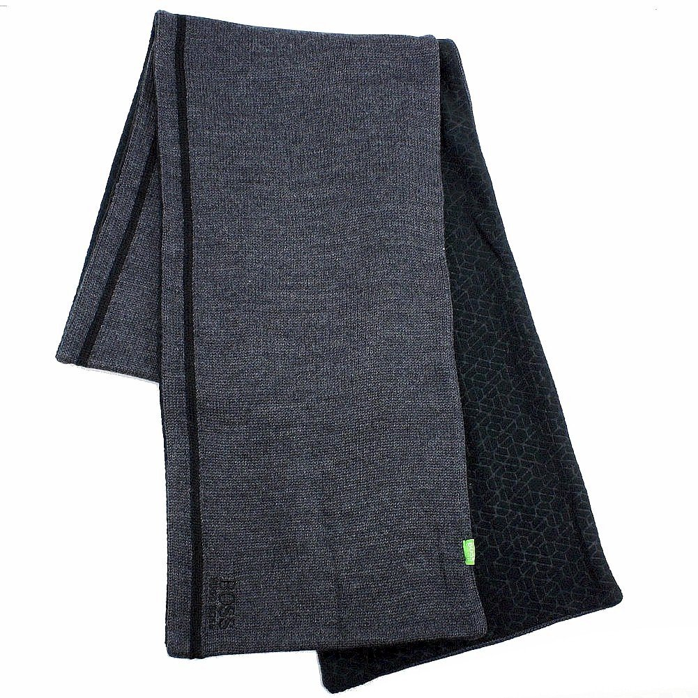 Hugo Boss Men's Knit Fleece Winter Scarf
