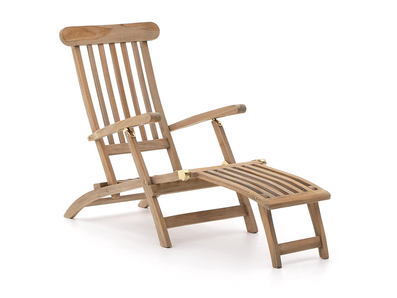 ROUGH X Deckchair Teakholz Gartenliege