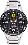 Ferrari Unisex-Adult Quartz Watch, Analog Display and Stainless Steel Strap 830641
