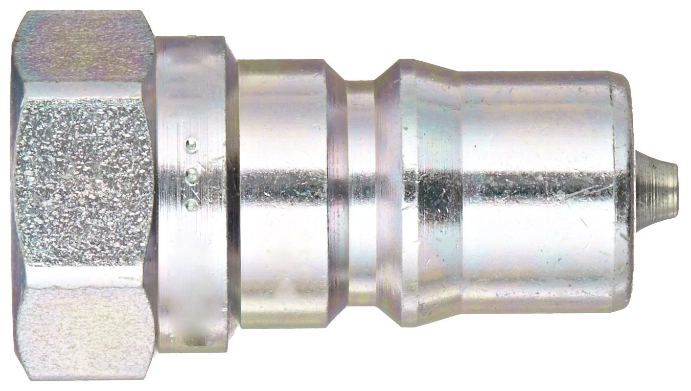 1//4 Coupling x 1//4-18 NPTF Female 1//4 Coupling x 1//4-18 NPTF Female Dixon Valve /& Coupling Nipple Dixon Valve H2F2 Steel ISO-B Interchange Hydraulic Fitting