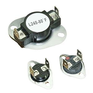 Supplying Demand LA-1053 LA1053 Dryer Thermostat Kit Fits AP4242472, PS2162282