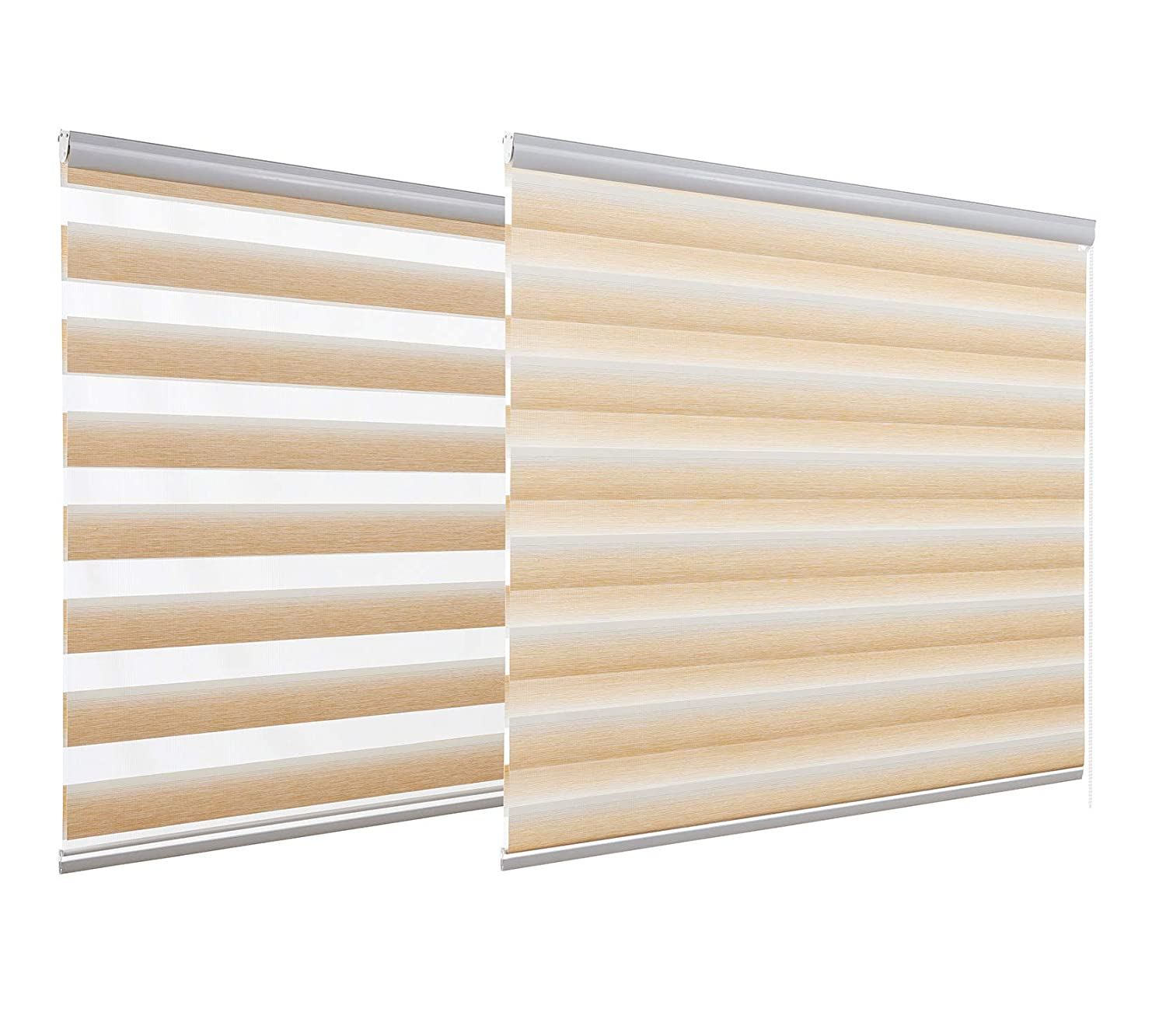 HSYLYM Window Blinds and Shades Office Wall Decor Room Darkening Outdoor Shades for Patio Roll Up (A01, 36x64) 36x64)