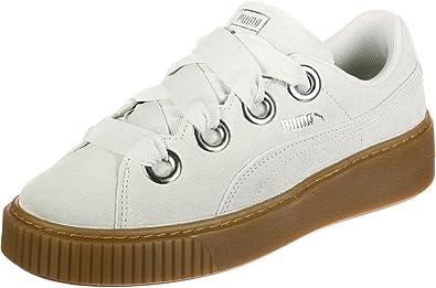 Puma Platform Kiss Suede W Chaussures: : Chaussures