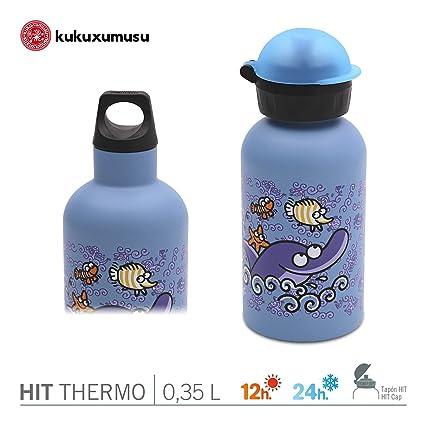 Pack Thermo Laken Futura Color Delfin Kukuxumusu - Botella ...