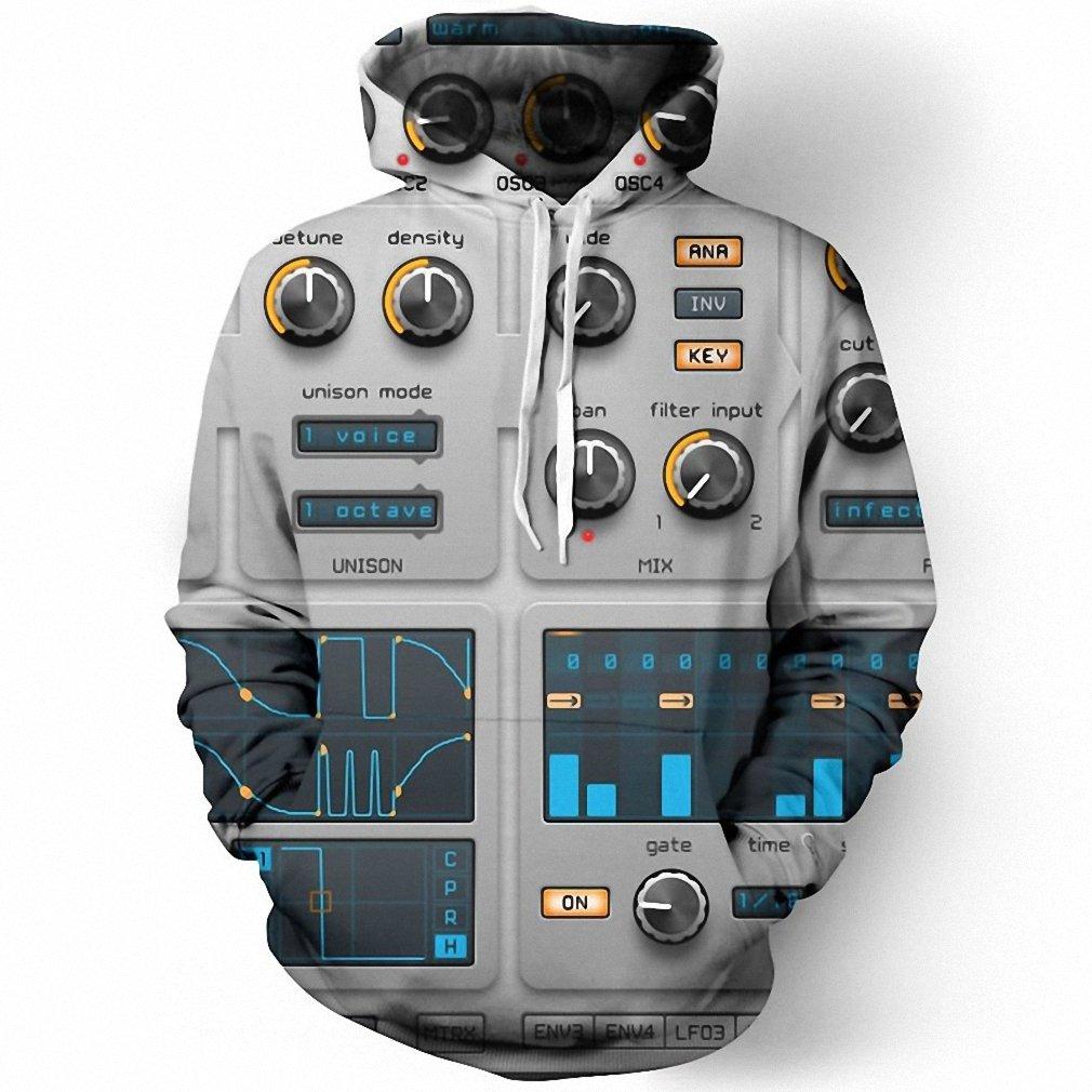 Audio Editor Mixer Dj 3D Men Hoodie NEW All Over Print Pullover Hoody Tops Sudadera Hombre Hoodies Sweatshirt Dropship hoodies men XXXL at Amazon Mens ...