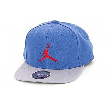 Nike gorra Jordan Jumpman True Snapback, color Azul - Bleu/gris/rouge, tamaño talla única: Amazon.es: Deportes y aire libre