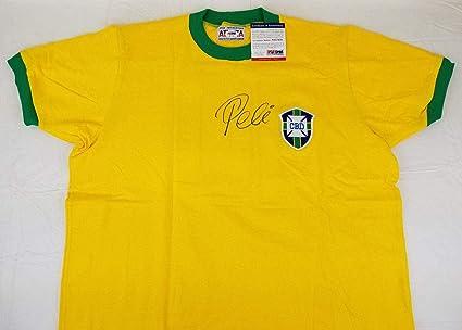 19001b749 Pele Signed Jersey - COA  AE17479 - PSA DNA Certified - Autographed Soccer  Jerseys