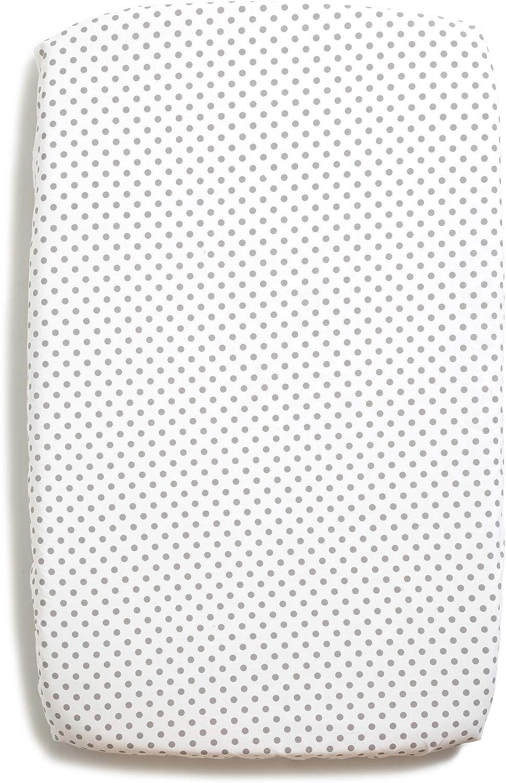 1 Al/èse Prot/ég/é Matelas Imperm/éable berceau Cododo Kinderkraft UNO Lullago dimensions 50x83 Niimo Draps Housse Cododo Next to Me 2 pi/èces 100/% coton Blanc+Blanc-Pois Gris