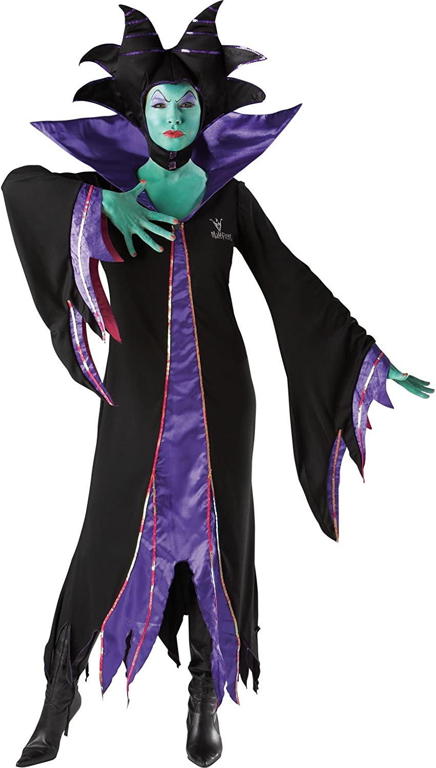 Rubies Fancy Dress - Disney Maleficent - Womens Small Size 8-10 ...