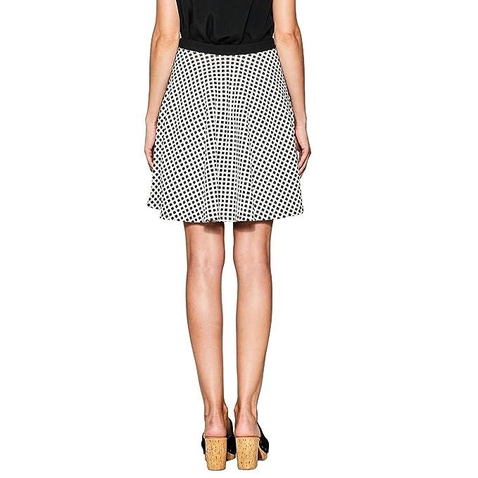 negozio online e1025 13774 ESPRIT Donna Gonna Svasata, Corta: Amazon.it: Abbigliamento