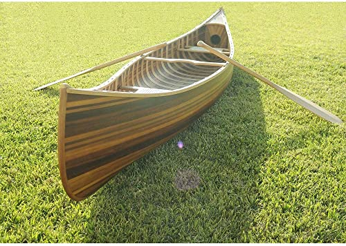10-ft Wooden Canoe with Ribs Curved Bow 10' [Old Modern Handicrafts] Picture