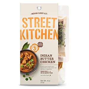 Passage Foods Street Kitchen, Indian Butter Chicken Scratch Kit, 9 oz, Pack of 4