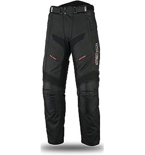 Negro,3XL MBS MJ21 James Motocicleta Motocicleta larga chaqueta de viaje textil