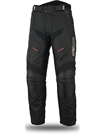 62a14fb811 Juicy Trendz Hombre Motocicleta Pantalones Moto Pantalón Mezclilla Jeans  con Protección Aramida Negro. MBSmoto LP24 Roader Motocicleta Moto Scooter  Cruiser ...