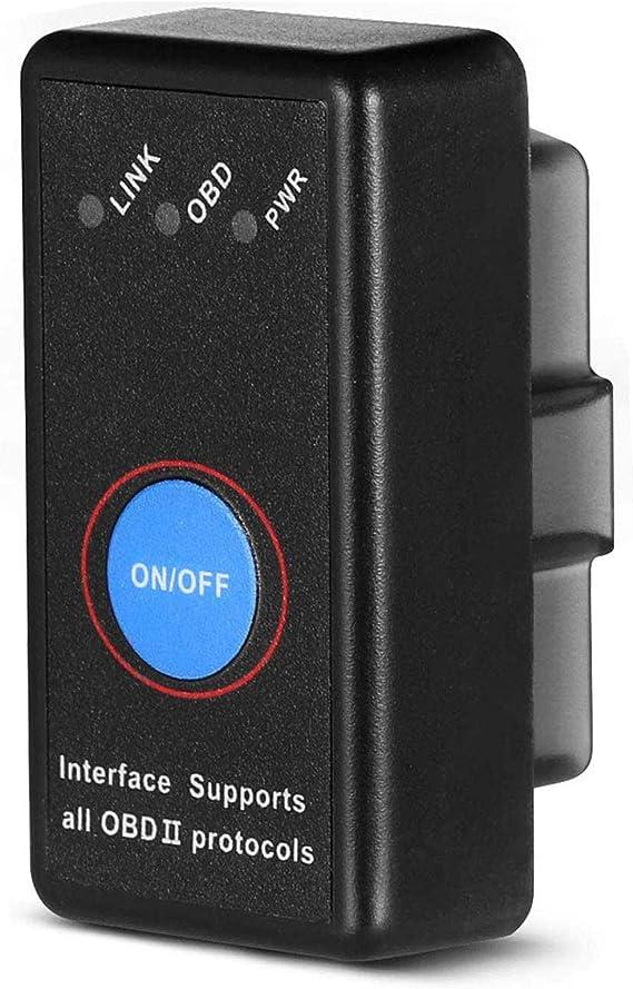Scanner OBD2 per Auto per Dispositivi Android e iOS Lettore di Codice Bluetooth 4.0 Foseal