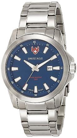 Swiss Eagle Analog Blue Dial Men's Watch - SE-9056-33